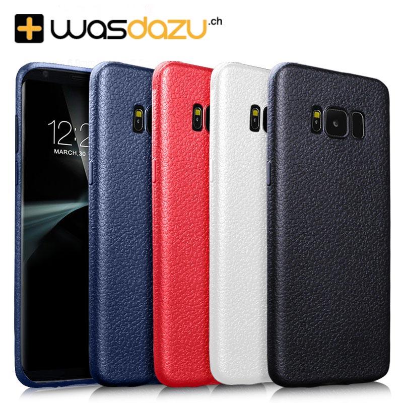 Samsung Galaxy S8 Schutzhülle in vier coolen Farben