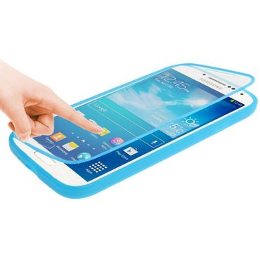 Cover Etui Smart View Samsung Galaxy S4 i9500 - Blau
