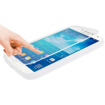 Cover Etui Smart View Samsung Galaxy S4 i9500 - Weiss