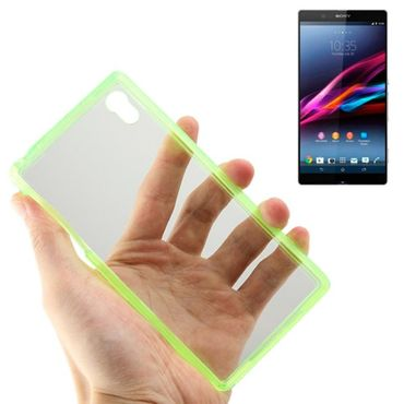 Sony Xperia Z2 TPU Silicon Case NatelhülleTransparent Grün