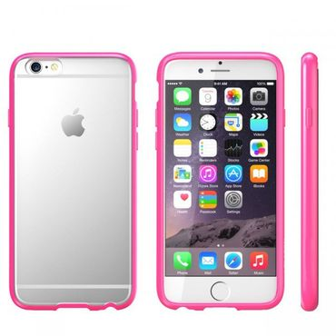 iPhone 6S Plus / 6 Plus Hybrid Silikon + hart Handycover Pink