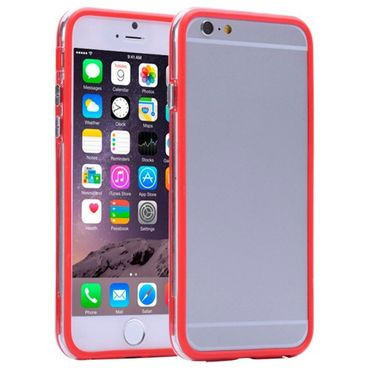 Rotes Bumper Case für iPhone 7 plus