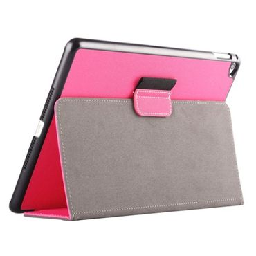 iPad Air 2 Case Textilstruktur mit Wake Up / Sleep Pink