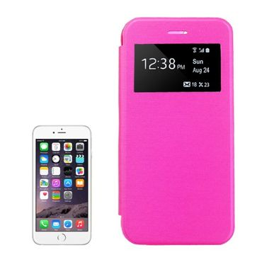 "iPhone 6S / 6 4,7"" Case Smart-View Fenster Pink"