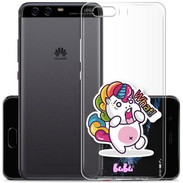 Huawei P10 Plus Handyhülle Unicorn Magic What Einhorn - bubu