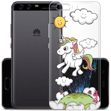 Hülle Huawei P10 Plus Unicorn Magic Einhorn Sunshine - bubu
