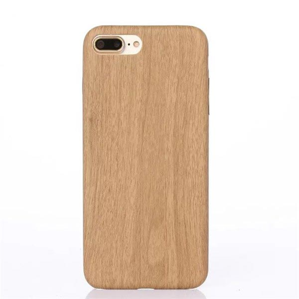 iPhone 8 Plus Holz Handycover Bambus Wood Look