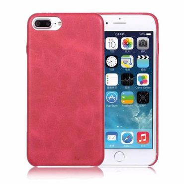 iPhone 8 Plus Cover Vintage Soft Leder