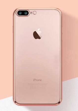 Apple iPhone 8 Plus Schutzhülle Cover Handyhülle Rosegold
