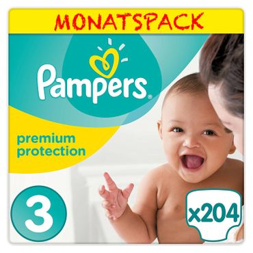 Pampers Premium Protection Windeln, Gr. 3 Midi 5-9 kg