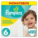 Monatsbox Pampers Windeln Premium Protection Gr. 6