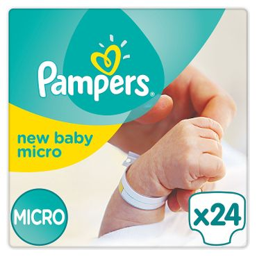 Pampers Windeln New Baby Gr.0 Micro 1-2,5 kg