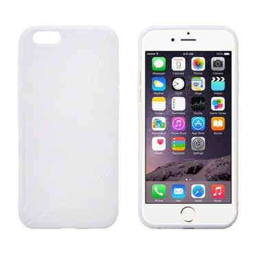 iPhone 6S Plus / 6 Plus S-Optik Cover Weiss