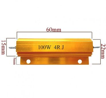 Widerstand 100 Watt 1K Ohm Lastwiderstand Wiederstand LED CAN-BUS CANBUS load resistor