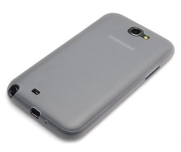Samsung Galaxy Note II 2 TPU Case Transparent Clear 0.3mm