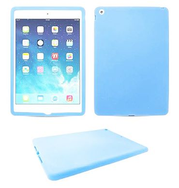 iPad Air Silikon Smart Shell Schutzhülle Blau