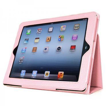 iPad Air / Air 2 PU Leder Smart cover Rosa