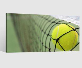 Leinwandbilder Ball Tennis Kat8 Tennisball Netz Sport Leinwand Bild Leinwandbild Wandbild Holz 9BD230
