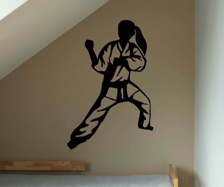 wandtattoo judo k mpfer kampf japan tattoo sticker aufkleber wand portrait 5g029 wandtattoos. Black Bedroom Furniture Sets. Home Design Ideas