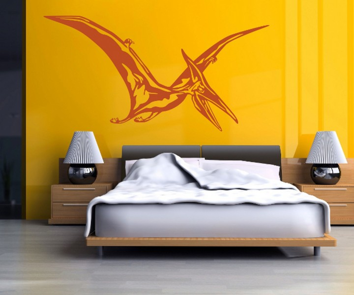 wandtattoo dinosaurier tier tattoo wand deko sticker. Black Bedroom Furniture Sets. Home Design Ideas