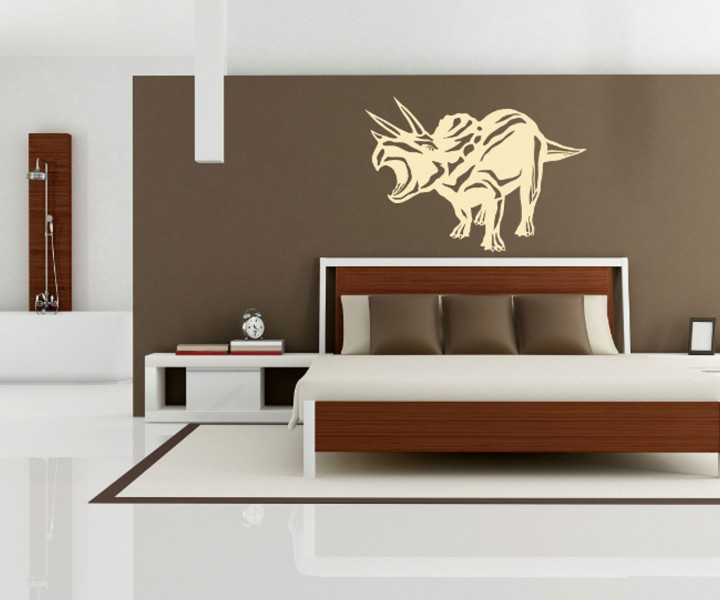 wandtattoo dinosaurier dino wand dekoration sticker. Black Bedroom Furniture Sets. Home Design Ideas