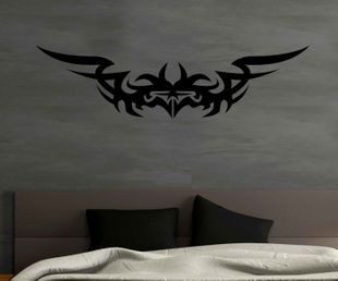 Wandtattoo Tribal Fledermaus Tattoo Batman Dekoration Sticker Aufkleber 1U048