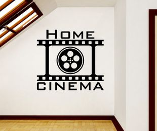 Wandtattoo Home Cinema
