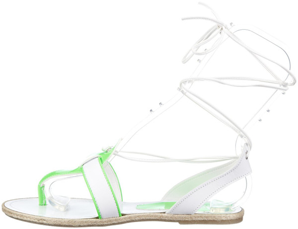 Nat-2 n2TinglewhgW Fashion Sandalen white green – Bild 1