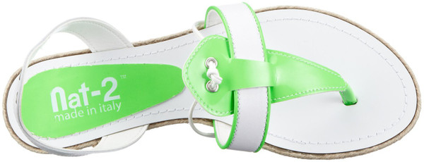 Nat-2 n2TinglewhgW Fashion Sandalen white green – Bild 3