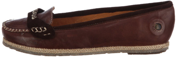 Stork Steps Courrespondent Ballerinas Leder dark brown – Bild 1
