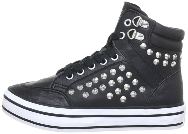 Buffalo 3316 167 Hightop Sneaker black
