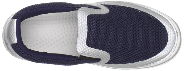 Crocs Hover Fuze Sneaker Slipper nautical navy silver – Bild 3