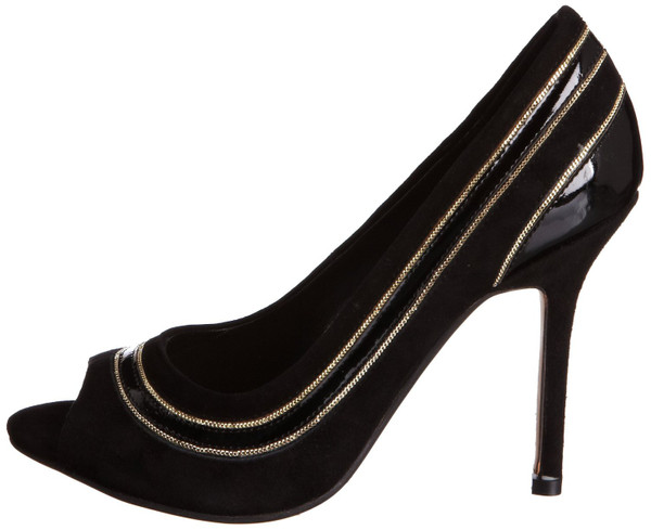 Dune Pumps Chrissy Di Pumps Wildleder High Heel black