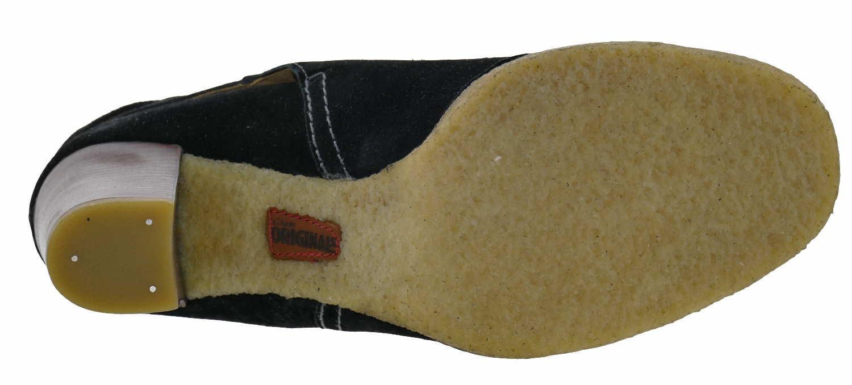 outlet store a0257 a6702 Clarks Kitzi Love Stiefeletten Wildleder black Weite D