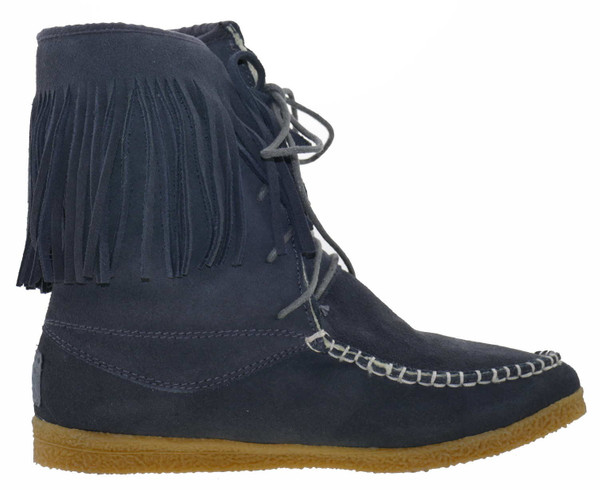 Colors of California HC YI08 Winter Stiefeletten Wildleder dark grey – Bild 3
