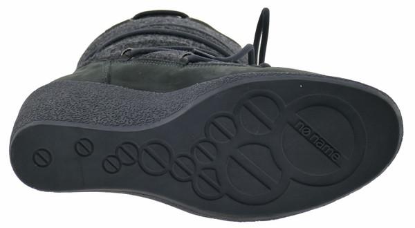 a74a5cc34424 No Name Choko Ski Boots Winterstiefeletten Leder grey – Bild 4