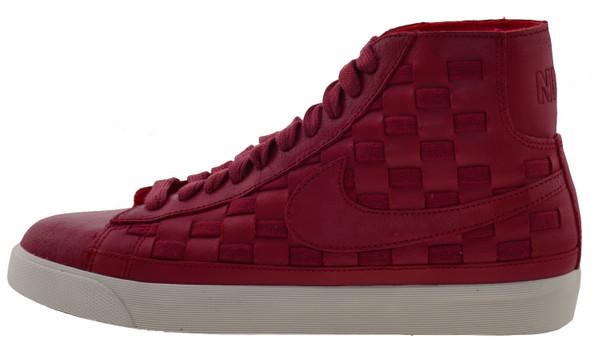 Top Blazer Sail Sneaker Mid Leder High Hyper Nike Red 1JlKTFc