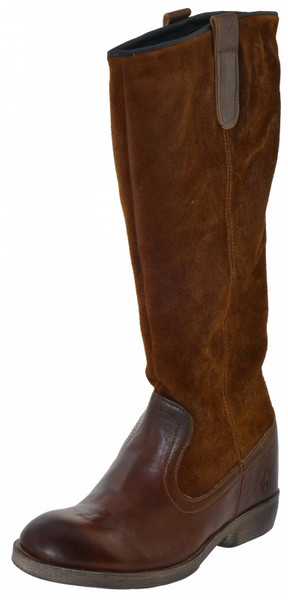FLY LONDON Cath Schlupfstiefel Leder Wildleder tan camel – Bild 2