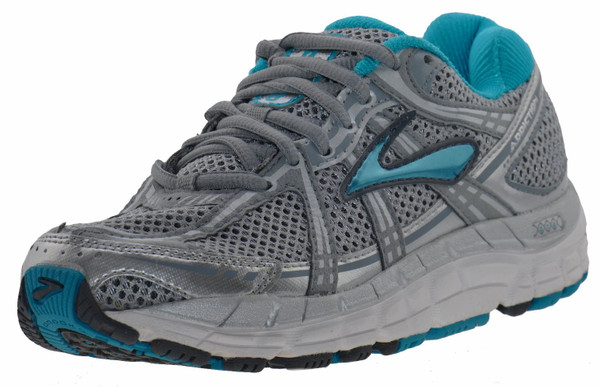 Brooks Addiction 11 Laufschuhe Sneaker silver sea – Bild 2