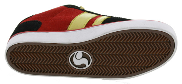 DVS Shoes Milan 2 CT Kids Sneaker blackred suede Weeman – Bild 3