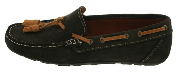 Castellanisimos CT-12031 Herren Slipper Wildleder braun cafe – Bild 1
