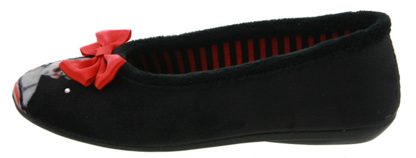 Be Only Lola Ballerinas noir rouge – Bild 1