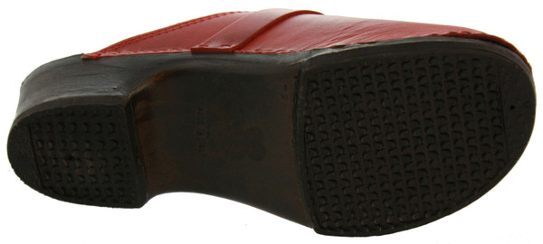 US Polo Assn Blog Clogs Leder rot – Bild 3