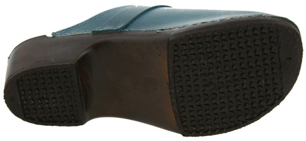 US Polo Assn Blog Clogs Leder blau – Bild 3