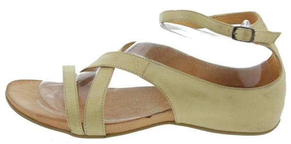 Seven B1965 Sandaletten Leder beige Kaufen Online-Shop