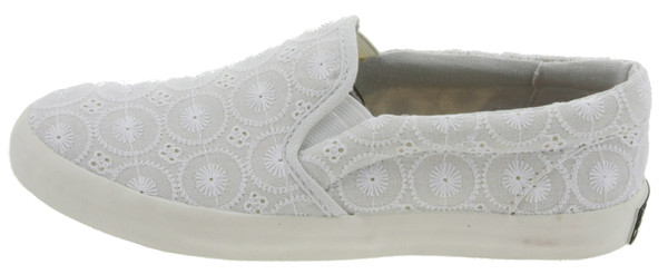 Juicy Couture Nicole Sneaker Slipper weiss – Bild 1