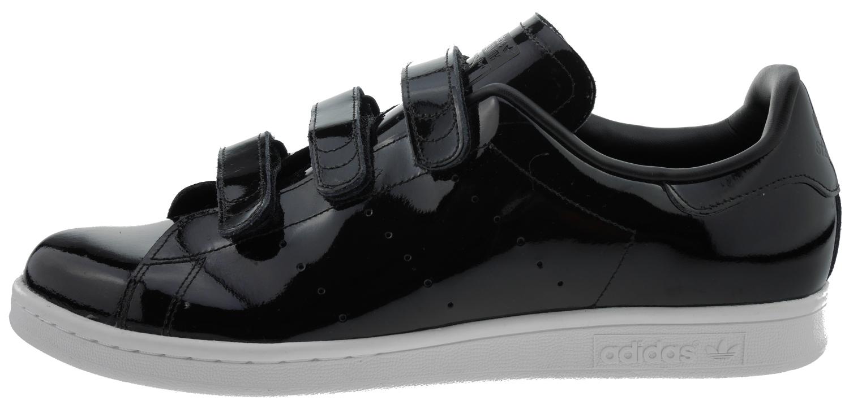 Adidas Stan Smith CF Sneaker Lack Leder schwarz