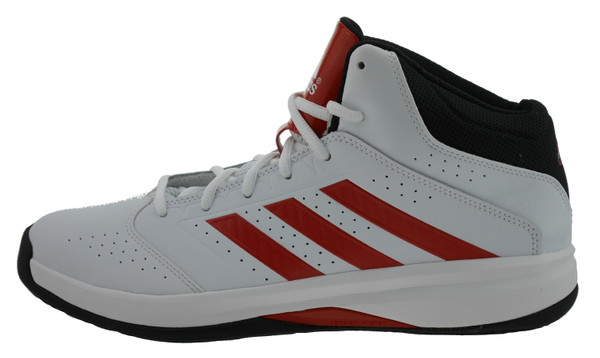 Adidas Isolation 2 Hightop Sneaker Leder weiss – Bild 1