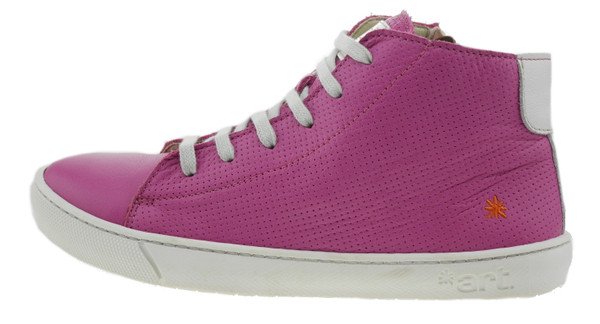 art Kids A538 Dover High-Top Sneaker Leder pink – Bild 1