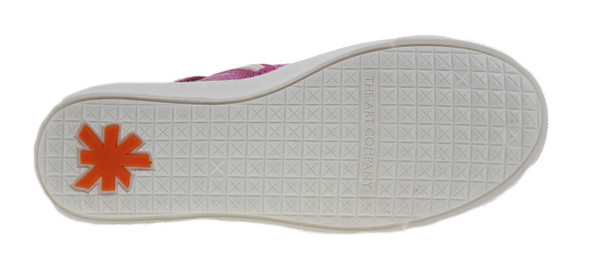 art Kids A538 Dover High-Top Sneaker Leder pink – Bild 3